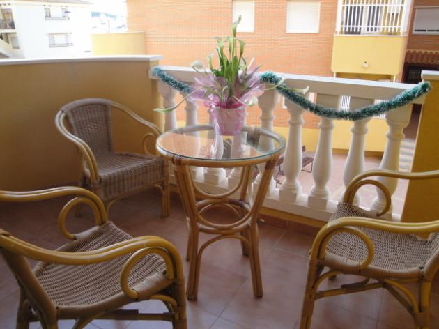 PTO03- Two Bedroom Apartment in Puerto de Mazarron, Close To Beach, holiday rental in Puerto de Mazarron