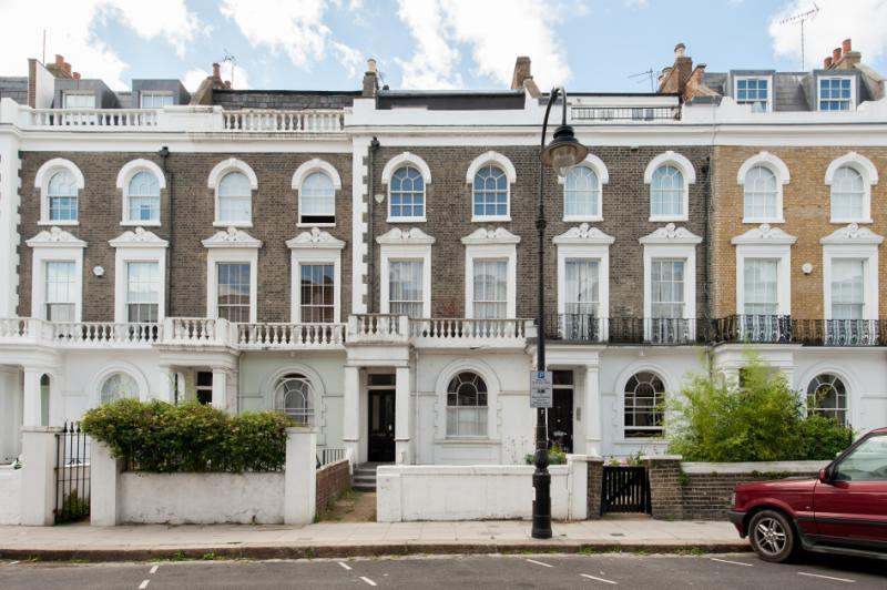 Garden flat in Georgian Terrace