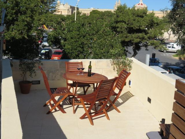 Enjoy breakfast or dinner on the roof top terrace