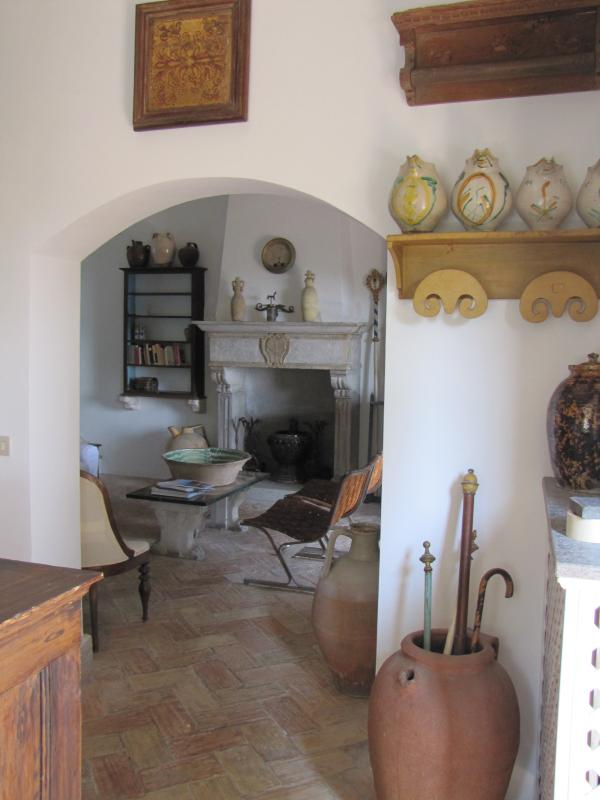 View of the Sitting room from the Kitchen