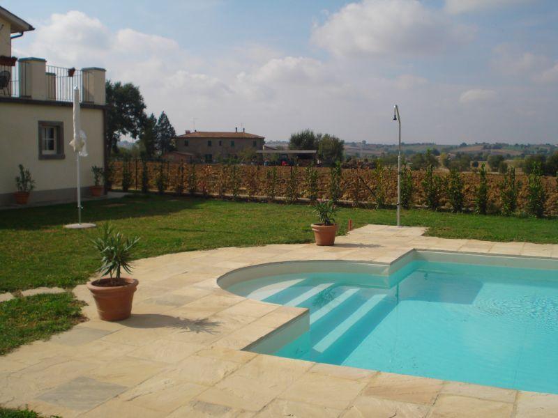 Einfacher Zugang zum pool