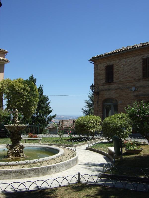 Local village square