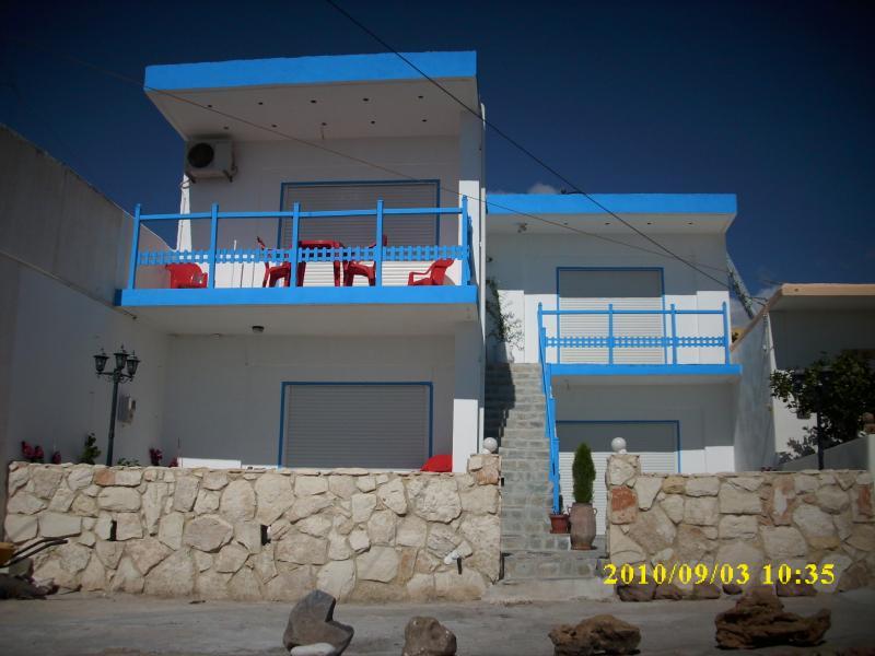 maison vue de face appartement au rez-de-chaussée