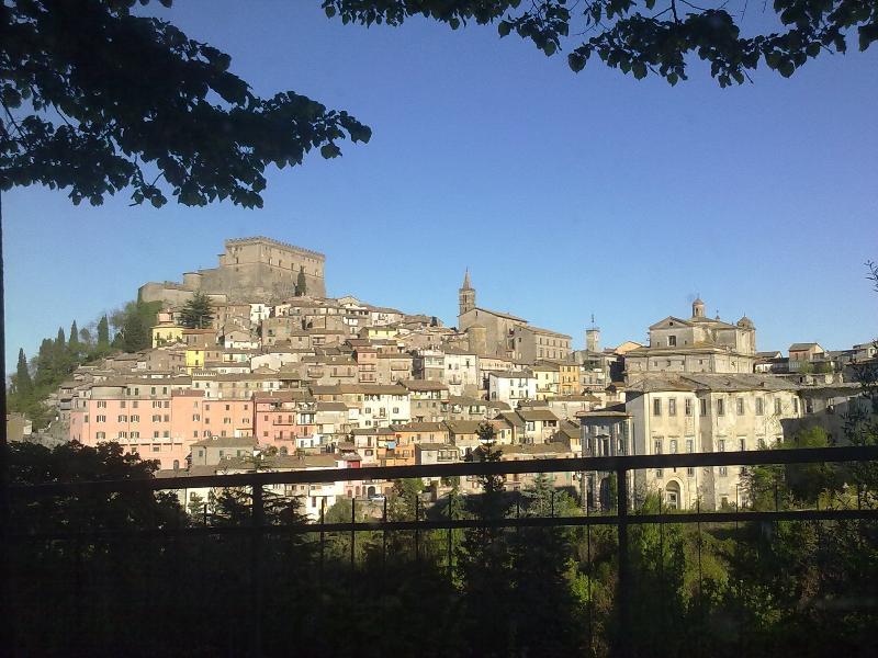 Soriano nel Cimino - View of the Orsini Castle