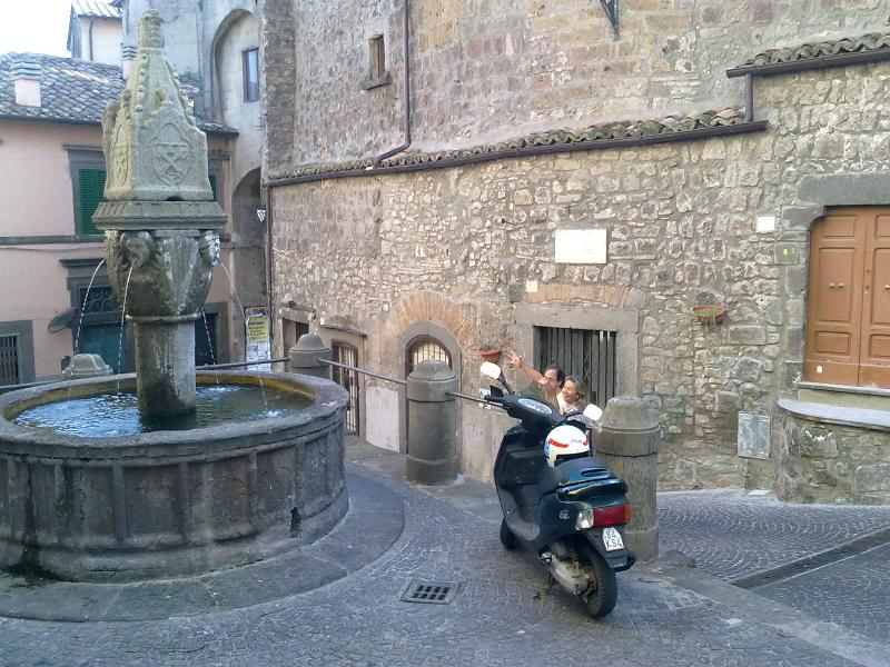 Soriano nel Cimino - Medieval fountain