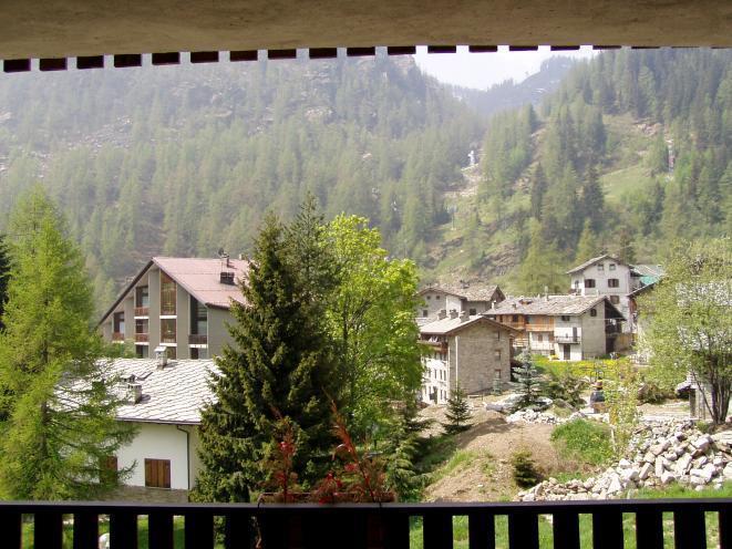 Terrazzo in estate