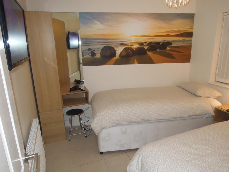 Chambre à deux lits ou vision alternative double superking Apt 1