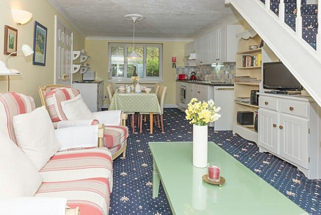 There is a colour TV, SKY, DVD, CD radio, books & games. WIFI Broadband. Limited WIFI access