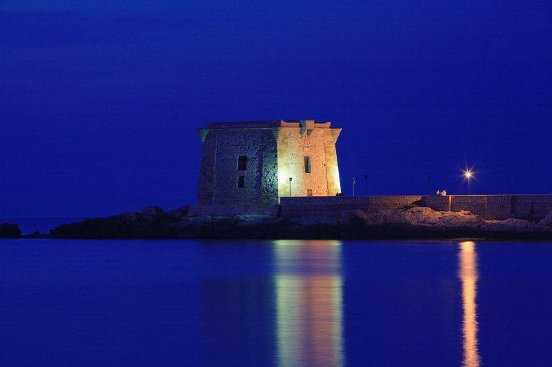 Torre di Ligny by night