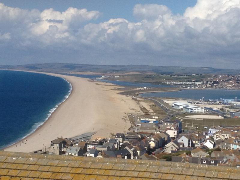 The famous Chesil Beach