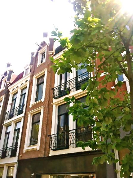 The streetview of 'upper East Apartments'