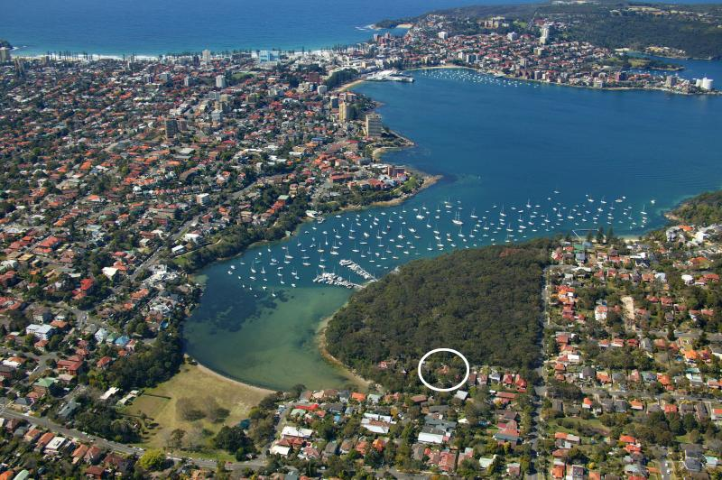Ariel shot of area showing North Harbour, Firelight and Manly.