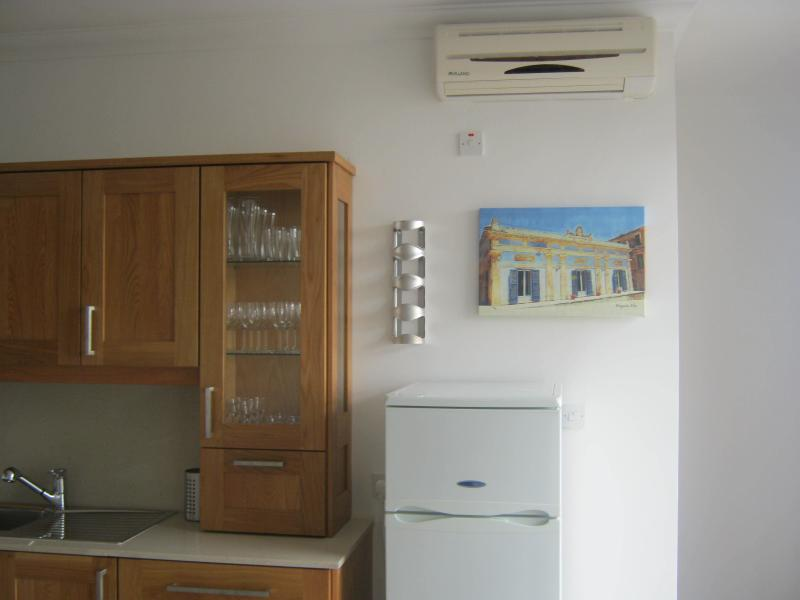Fully airconditioned living area