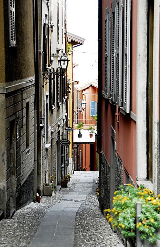 Bellagio centre town
