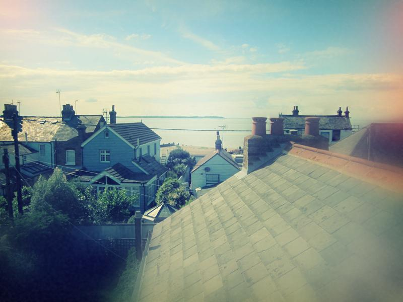 View from attic window