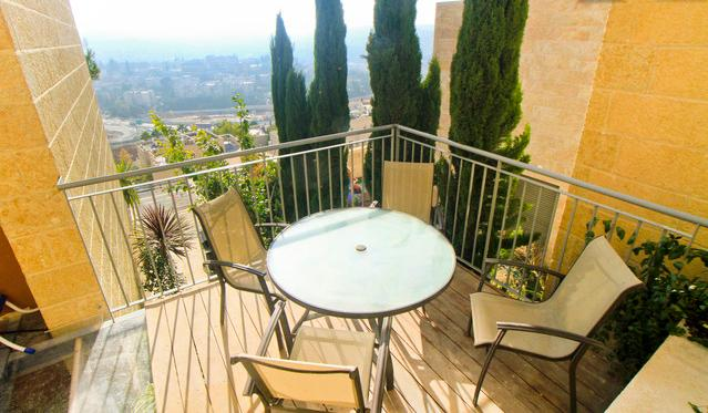 Holyland Suites - pool & view, holiday rental in Beit Shemesh