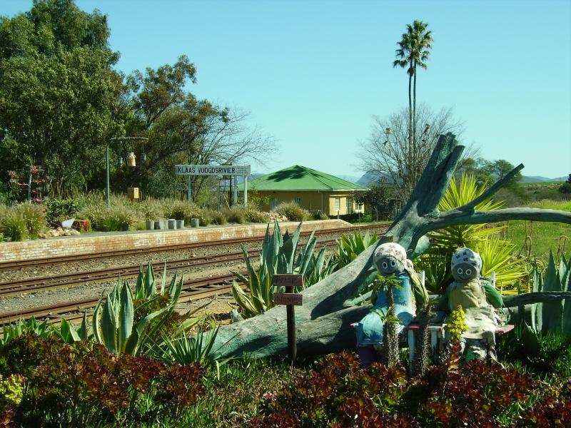 A country railway station near Montagu