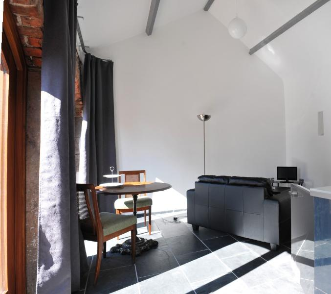 ..open plan living space,
