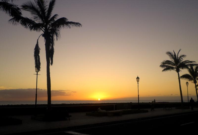 L'incredibile tramonto