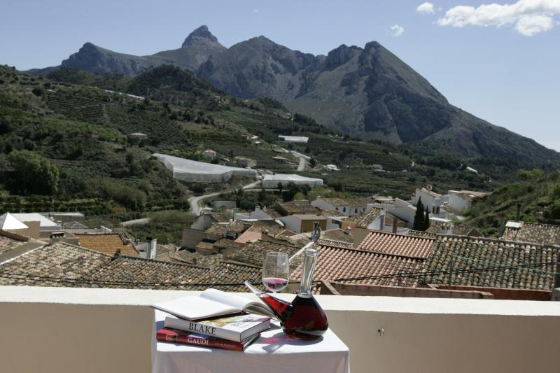 Our breathtaking valley, close to the Med, yet unspoilt, wake up to this vew every morning:)