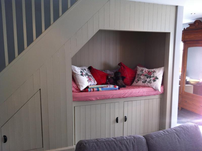 Box bed in the kitchen