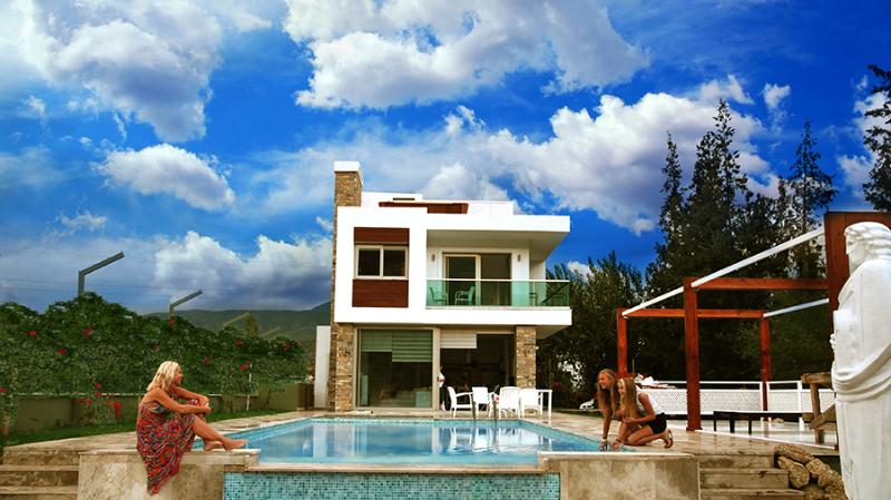 Best modern design villa in Dalyan