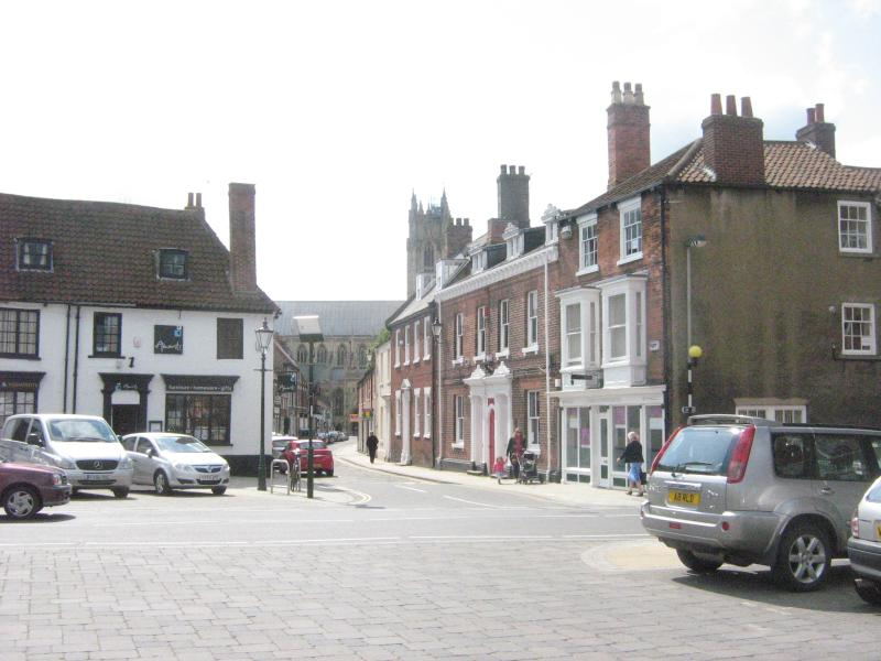 Towards the Minster