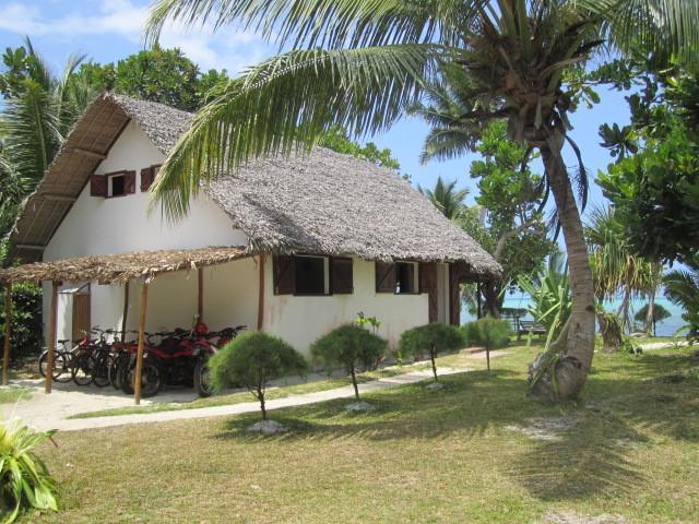 la villa Badamier (grande maison)