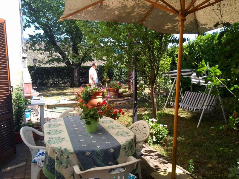 jardim - pátio apenas para seu uso