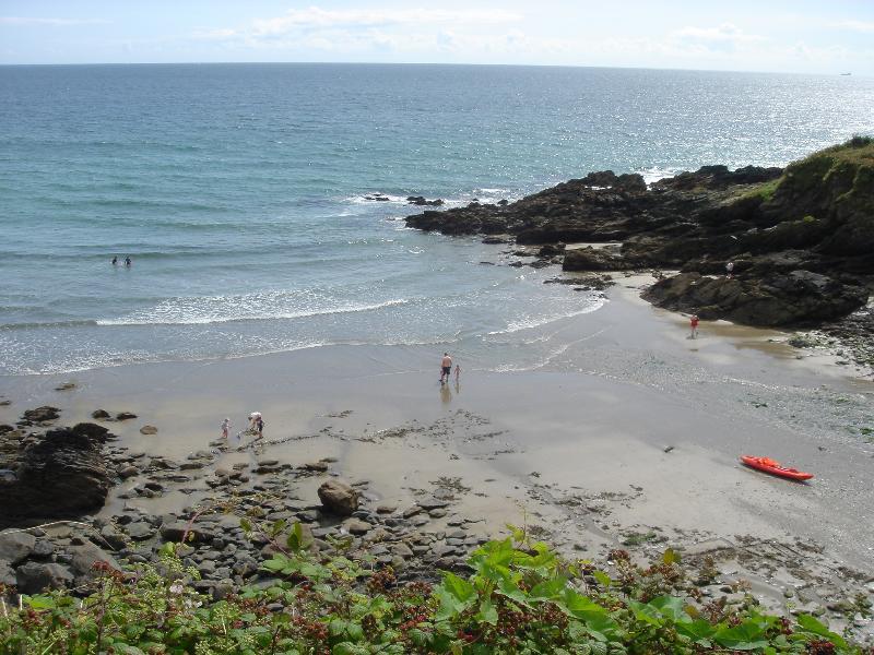West Portholland Beach  1 minute away