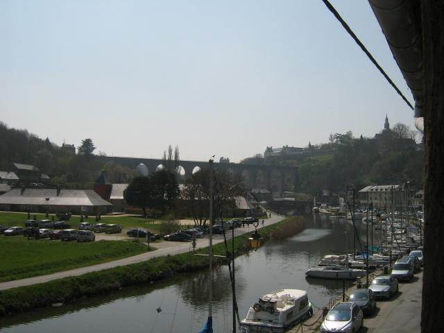 View from apartment - River Rance
