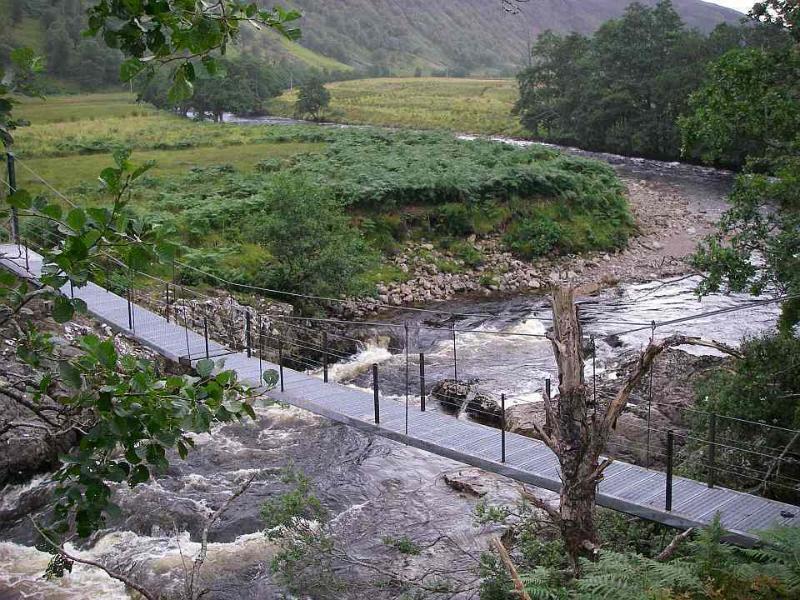 Ponte nei pressi di Glenmeanie