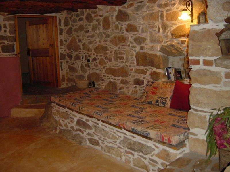 Built in Sofa- bed on the lower level