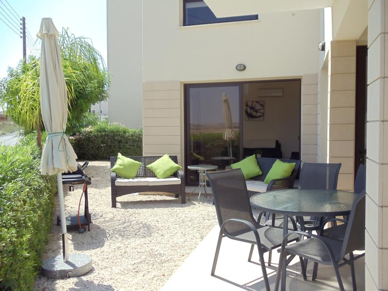 Relax and dine in your beautiful private garden