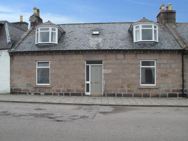 Terraced cottage, street view. Enclosed garden to rear.