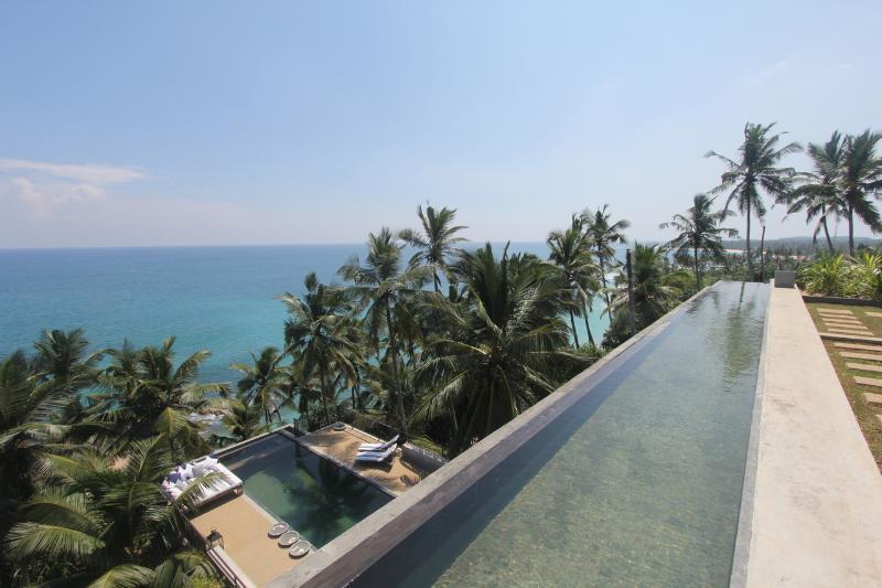Rooftop Infinity pool...