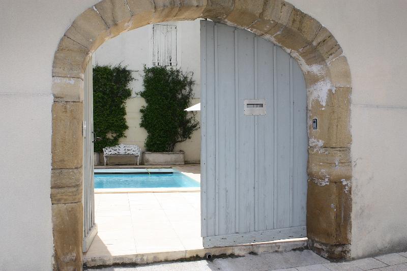 Secret courtyard pool