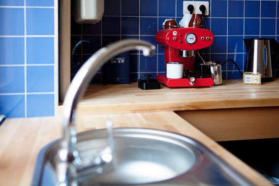 separate KITCHEN with Italian Espresso Machine