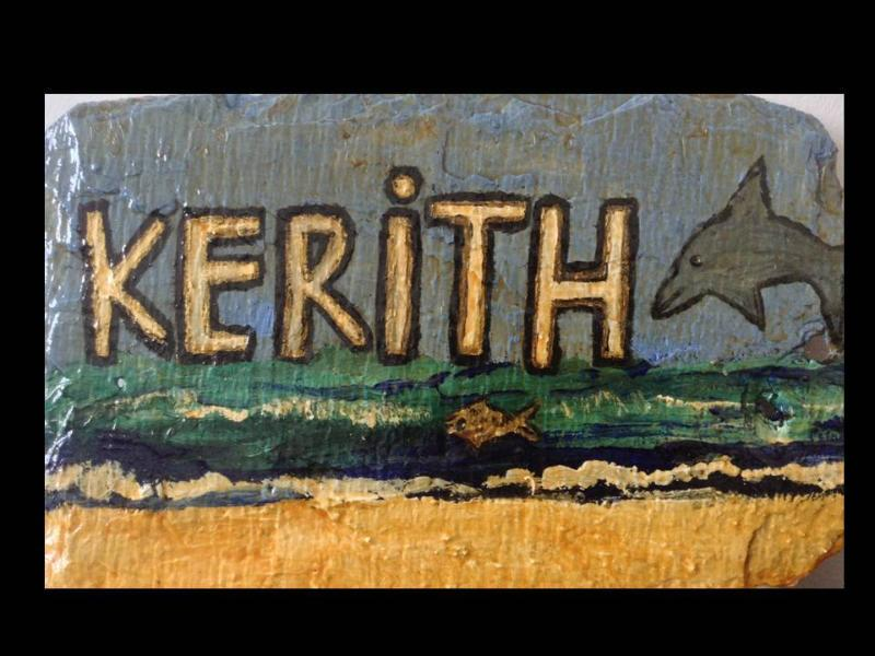 KERITH - rest, relaxation and recreation.