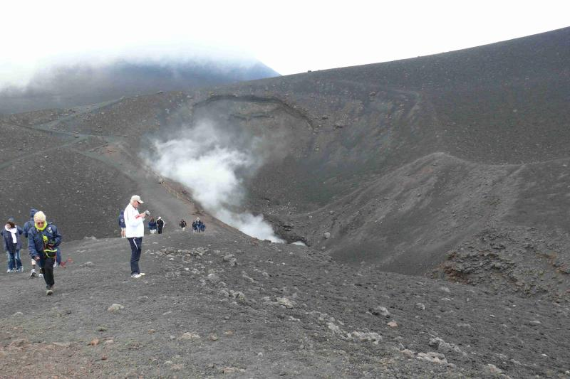 On top of Etna