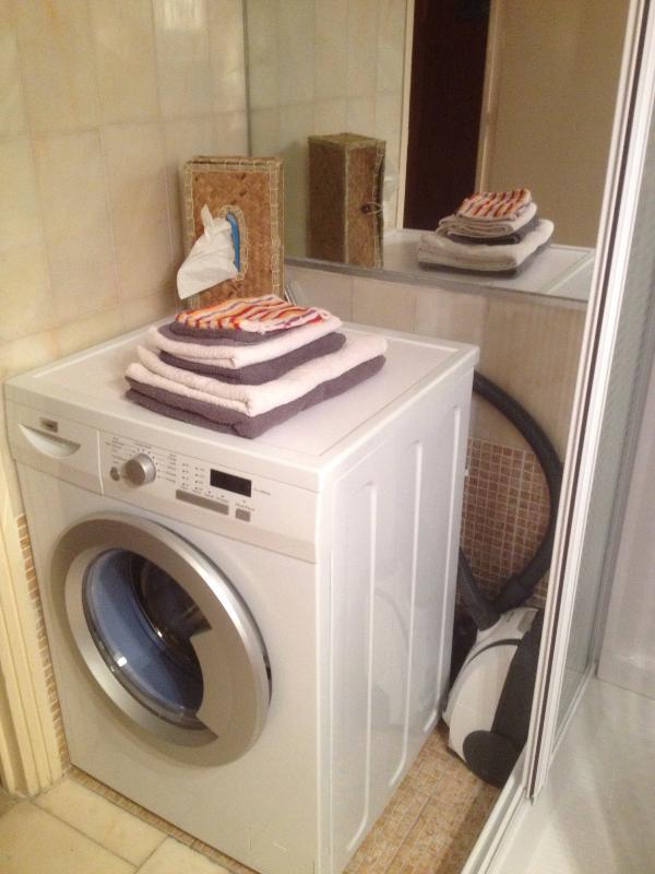 La machine à laver neuve