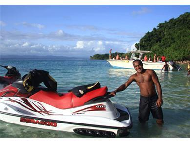 Jet ski tour provided by locals