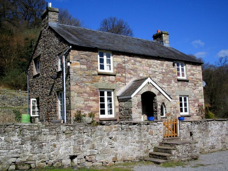 Front View of the Cottage.