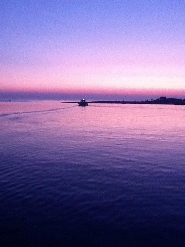 the most magical spot , the estuary of the River Bojana with Adriatic sea !