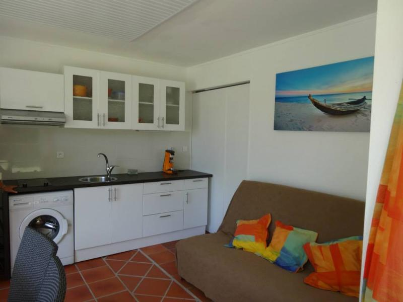 Le salon terrasse - Studio en rez de jardin