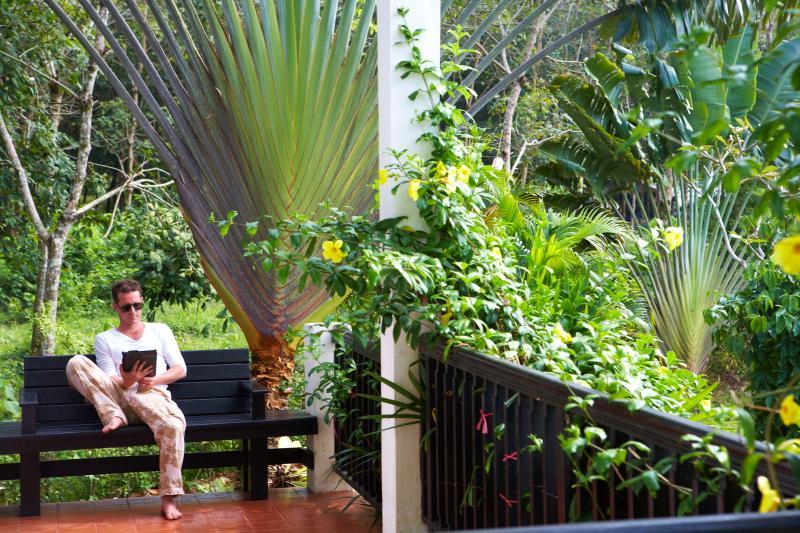 Rilassatevi nel vostro spazio verde privato