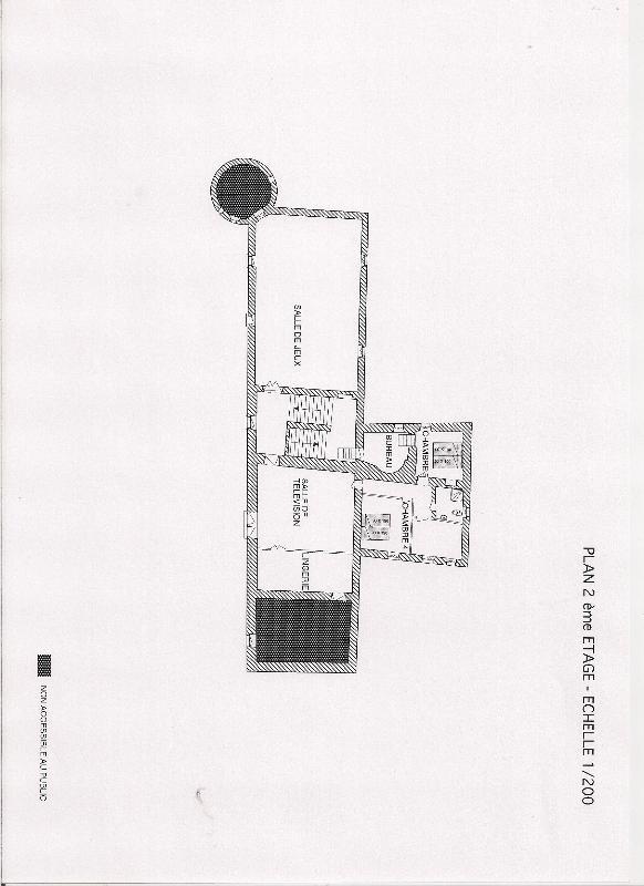 2ème plan de plancher