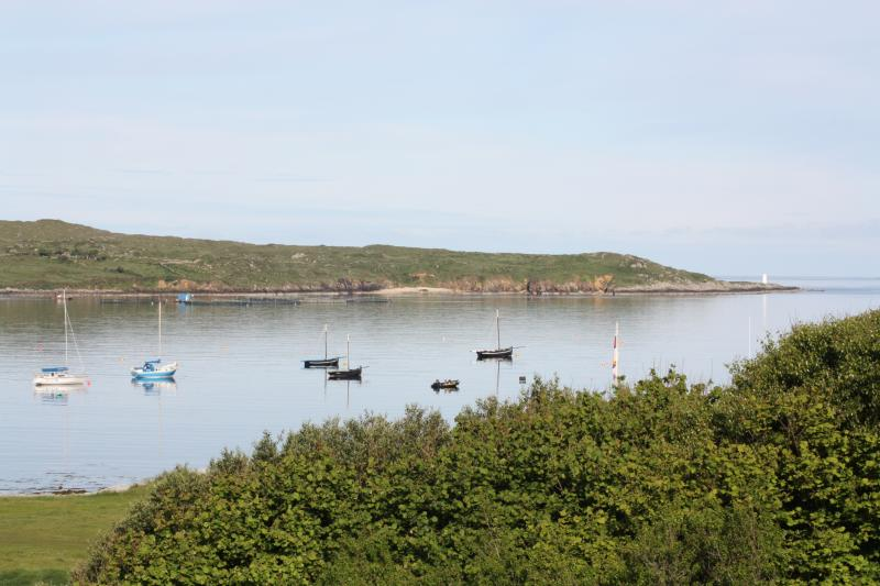 A calm June morning on Clifden Bay