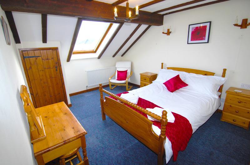 Saddlers Cottage camera da letto matrimoniale
