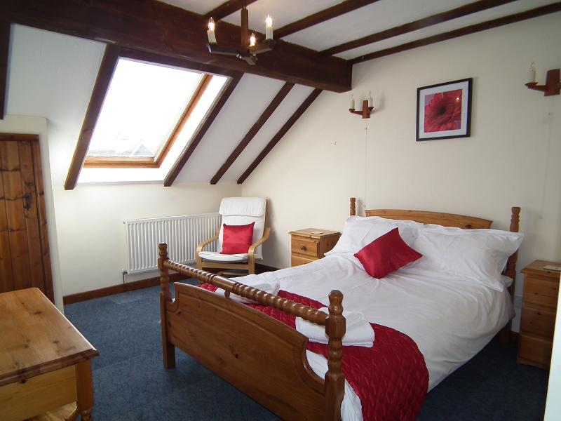 Saddlers Cottage camera da letto matrimoniale.